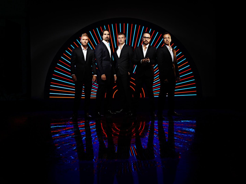 Lisa Schulte Neon Sculpture Backstreet Boys Vegas