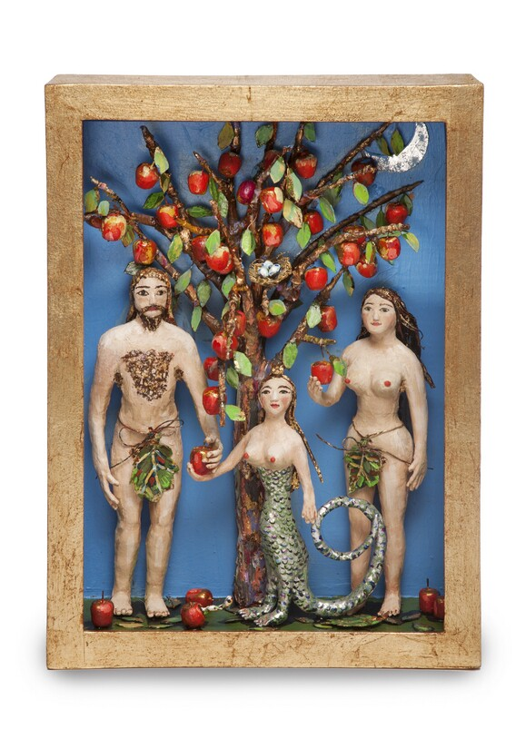 """Adam, Eve, and The Serpent"" by Kathleen De Palma"