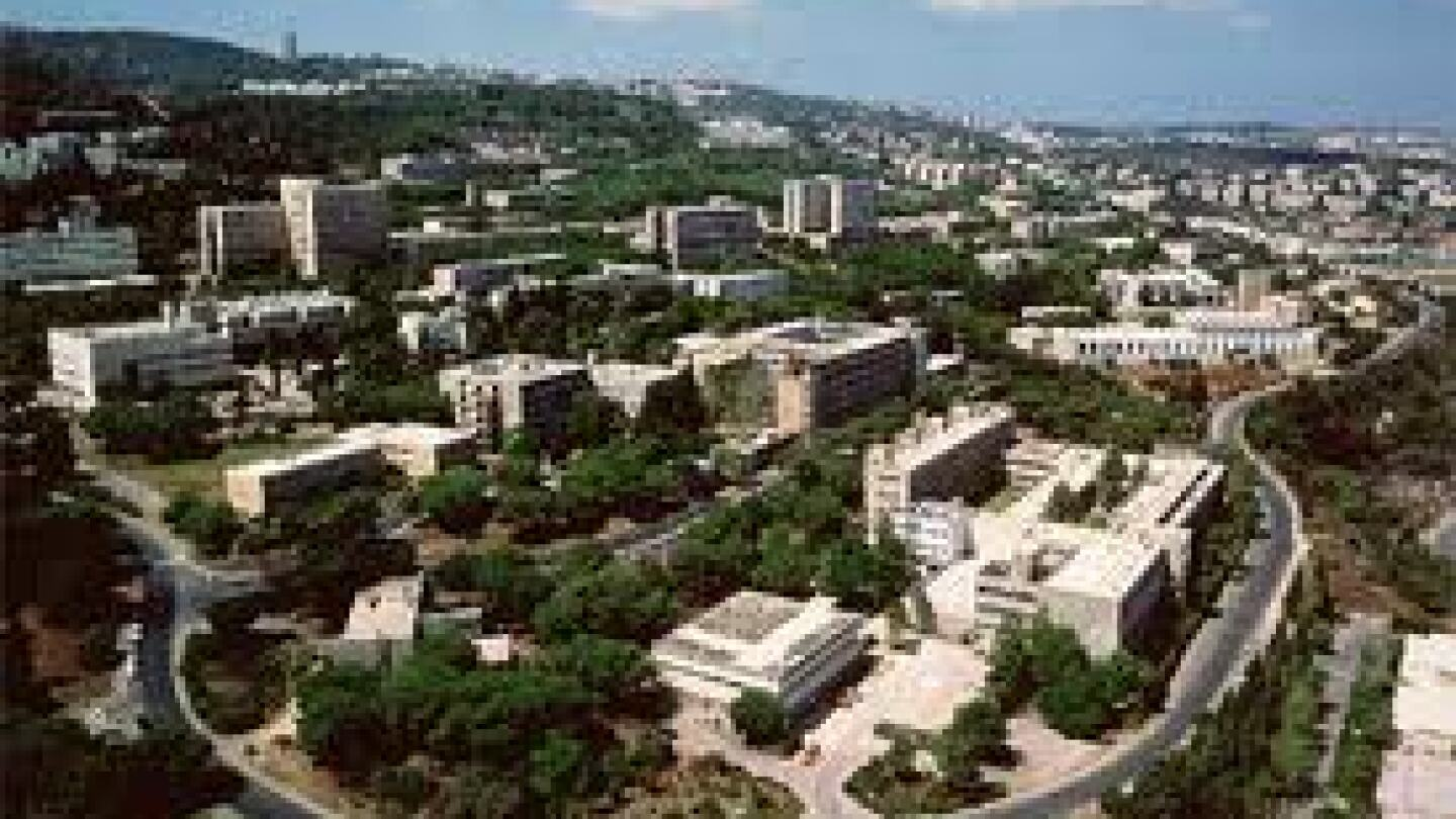 Arial View of Technion