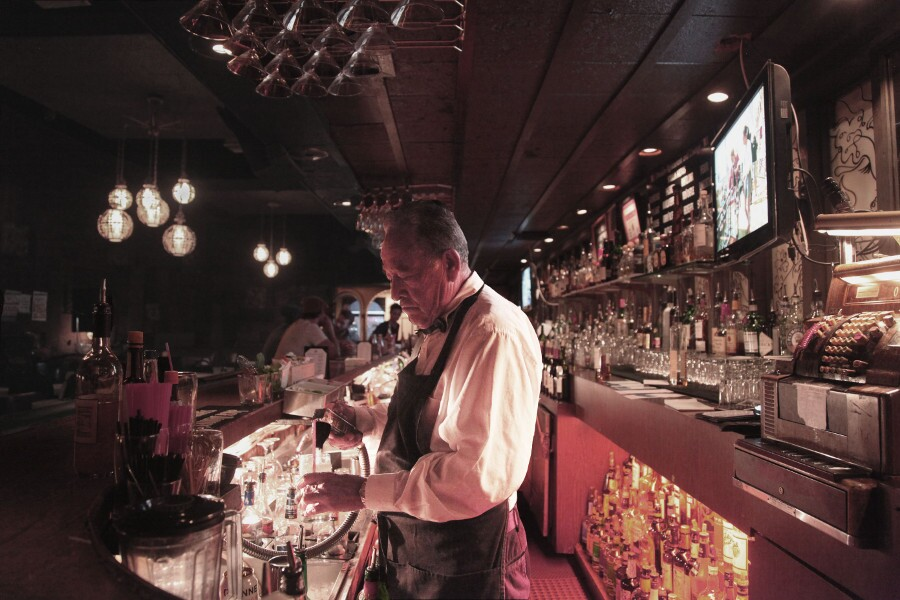 Bartender at the Dresden