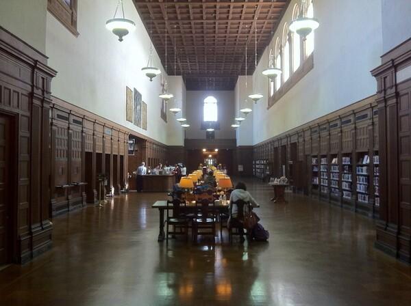 Inside Pasadena's Central Library