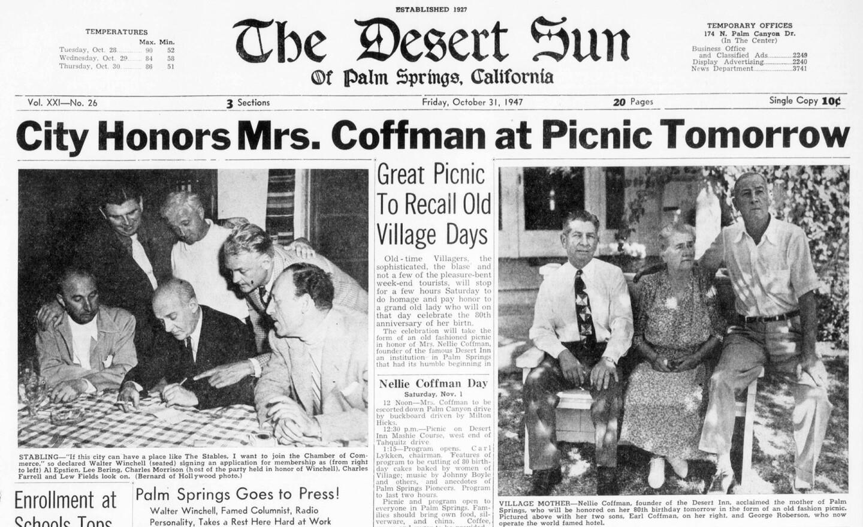 The Desert Sun, October 31, 1947
