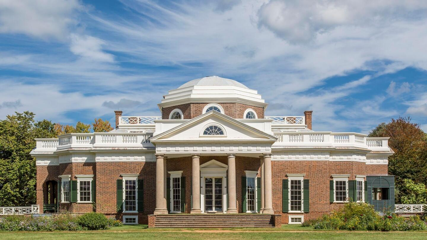"Thomas Jefferson's primary plantation, the Monticello. | ""10 Homes That Changed America"""