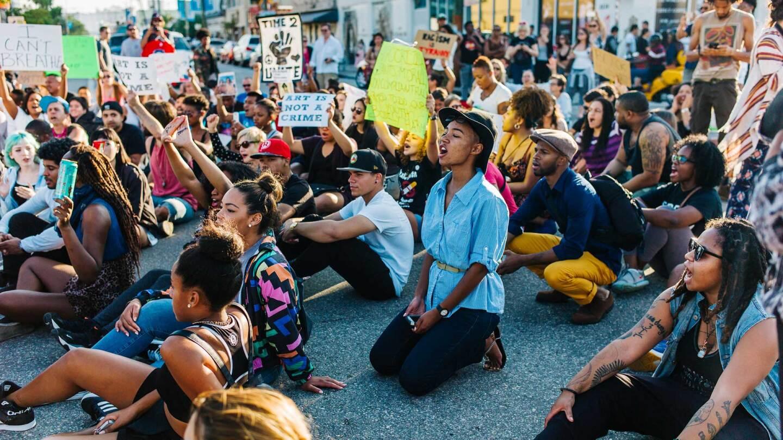 Anti-racism demonstration