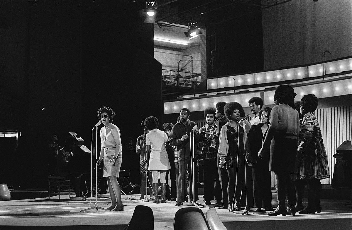 Edwin Hawkins Singers at rehearsals for Grand Gala du Disque in RAI Amsterdam | Wikicommons