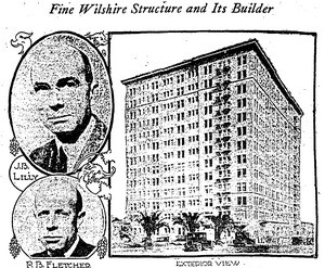 ''Thousands will inspect great new edfice'' Los Angeles Times, April 9, 1924