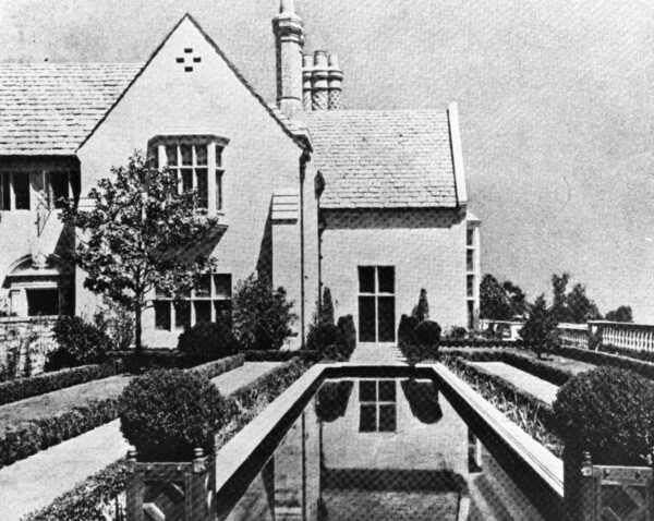 Greystone, ca. 1928   Security Pacific National Bank Collection, Los Angeles Public Library