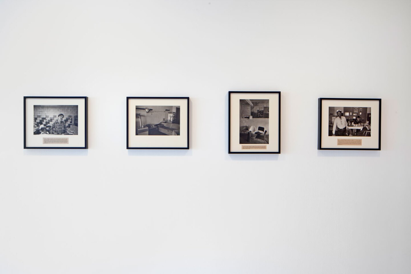 """Installation image of """"The Uses of Photography"""" at MCASD"""