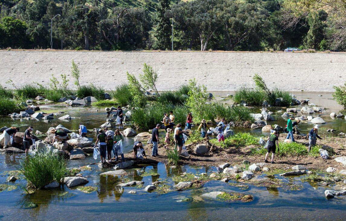 Great L.A. River CleanUp. | Courtesy of Friends of the Los Angeles River