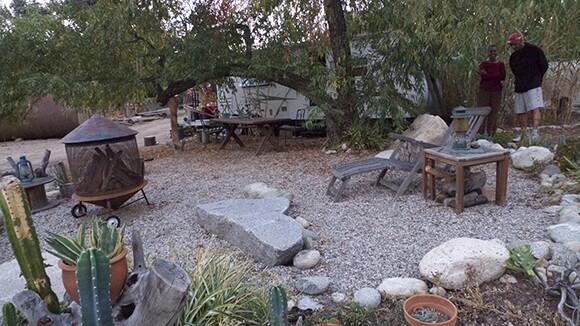 Dominique Trailer Garden