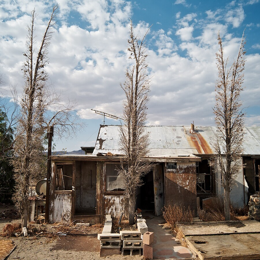 Abandoned Caretaker's House Adjacent to 'Burro' Schmidt Cabin, 2011 | Photo: Osceola Refetoff