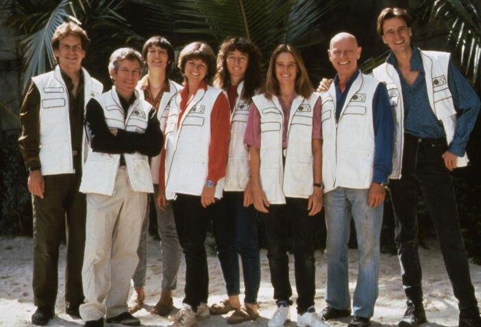 The Biosphere 2 crew | Photo: Biosphere 2 Organization