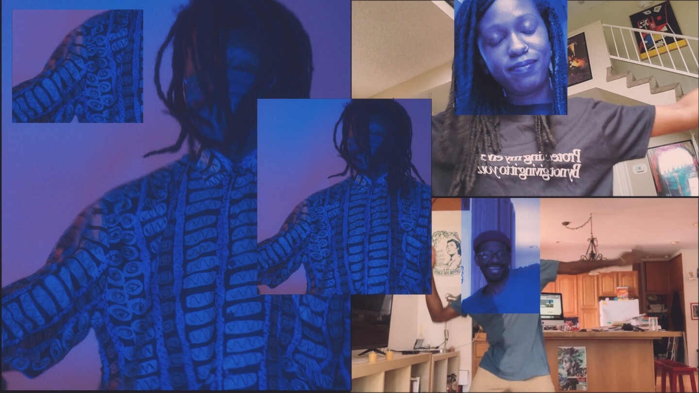 """Def Sound """"Struck"""" collage 