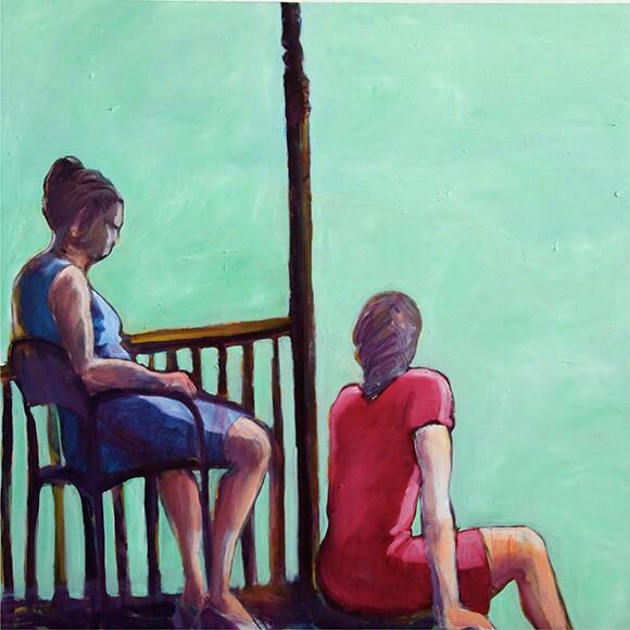Mary Woronov painting
