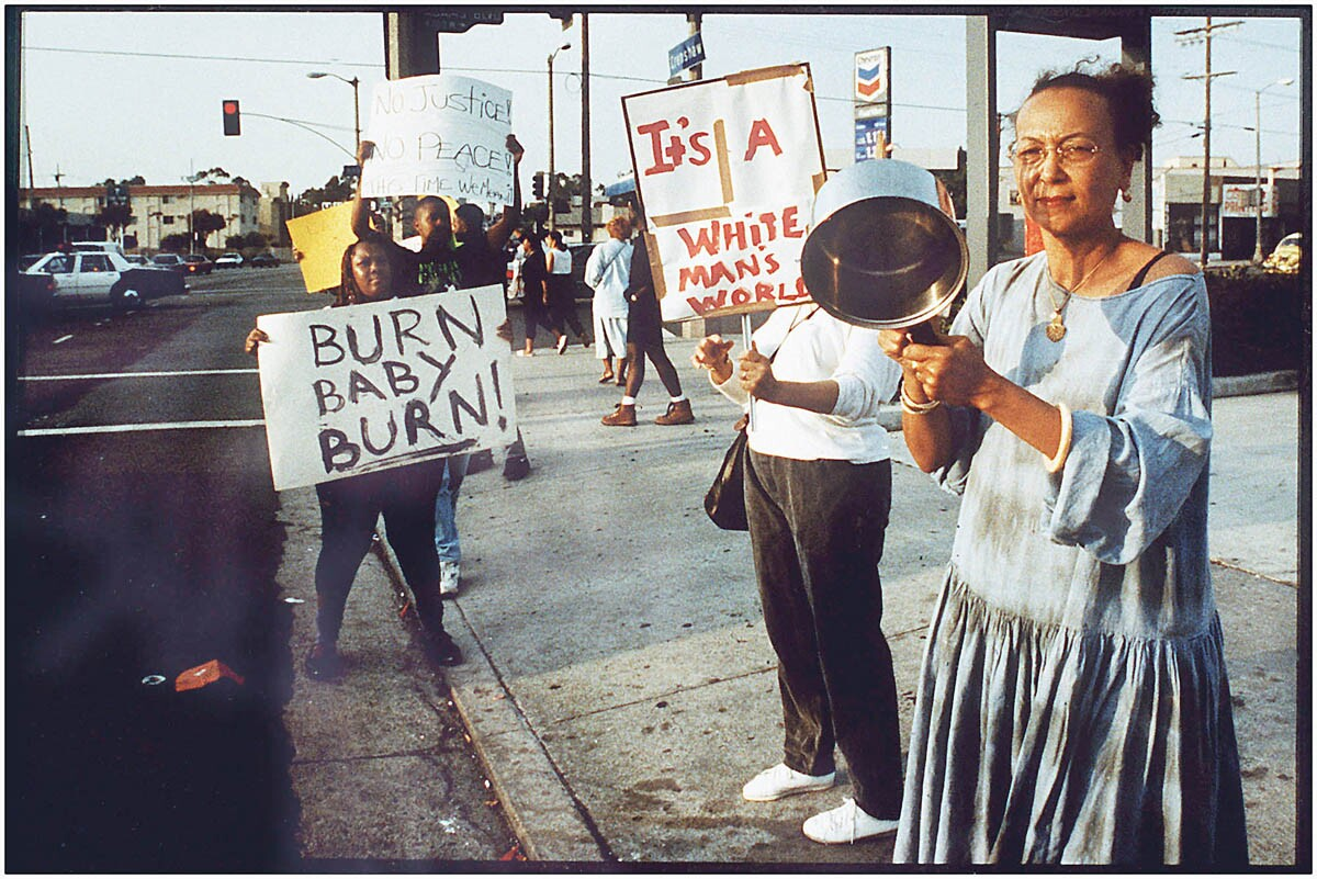L.A. Riots - Protest