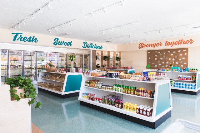 Hank's Mini Mart after the makeover   Courtesy of  Los Angeles Food Policy Council