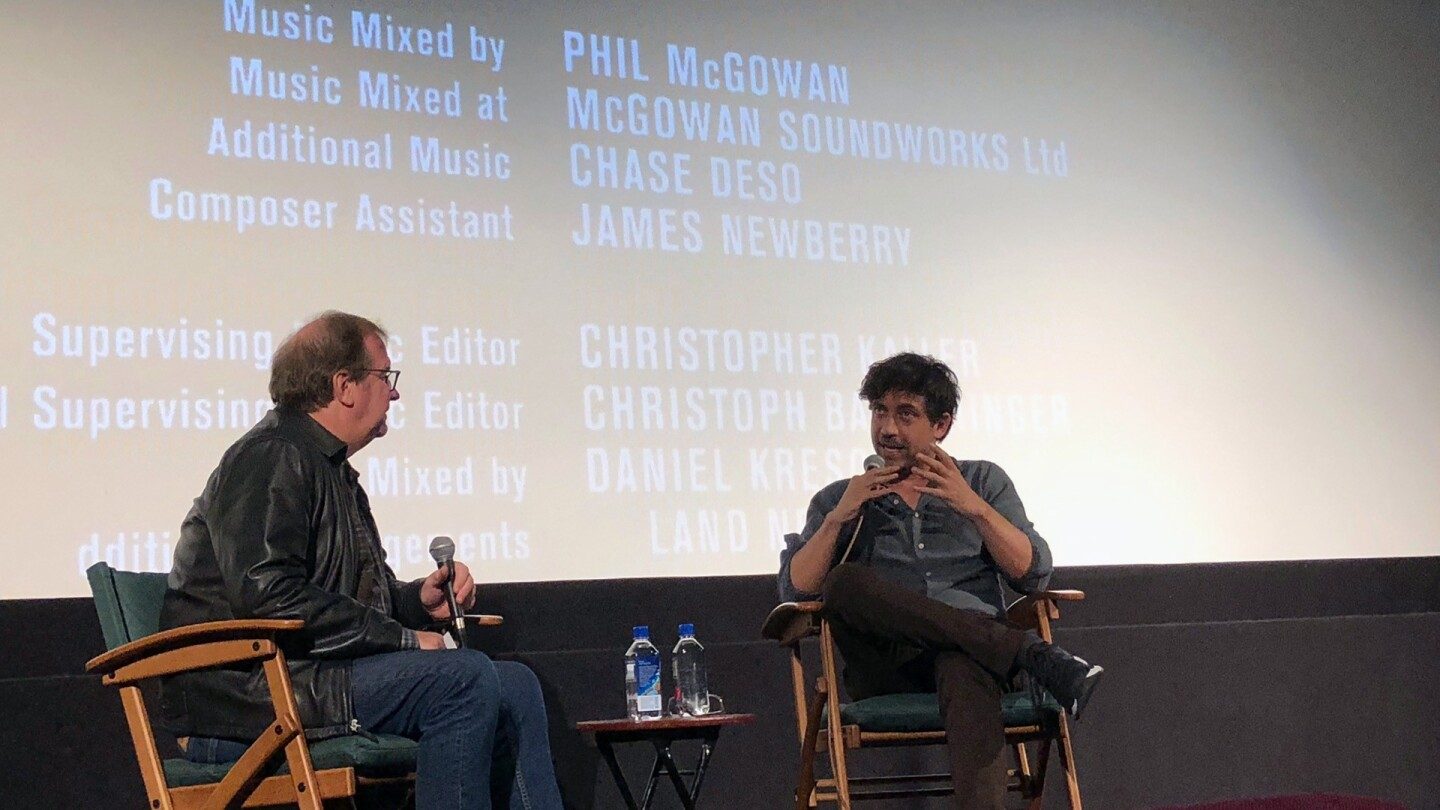 Director Alfonso Gómez-Rejón shares his insights on directing 'The Current War' with KCET Cinema Series members