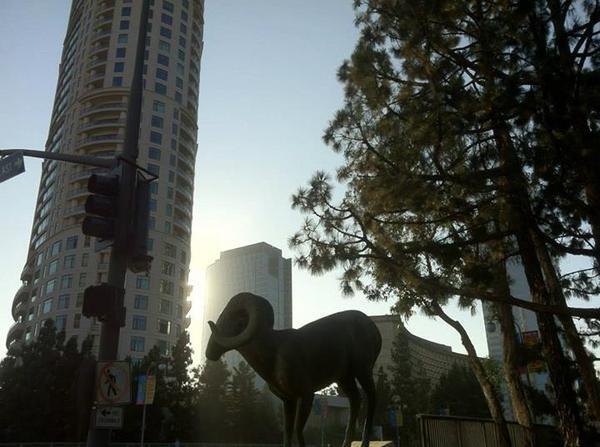 Century City -- The Century (2009) and  Gwynn Murrill sculpt