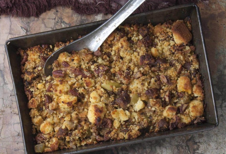 "Chorizo, Apple and Corn Bread Stuffing | From ""Pati's Mexican Table: Season 5, Episode 11"""