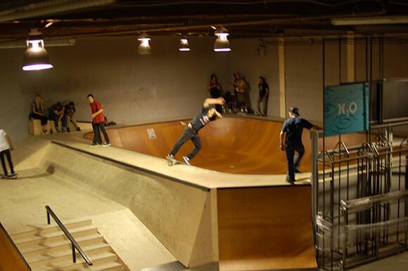 Hurley Skate Park before re-imagination
