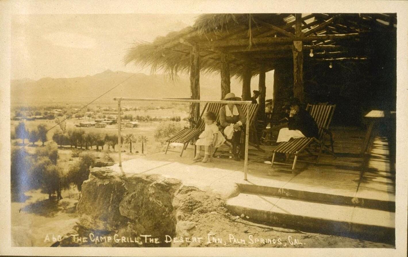 The Camp Grill, The Desert Inn, Palm Springs, Cal.
