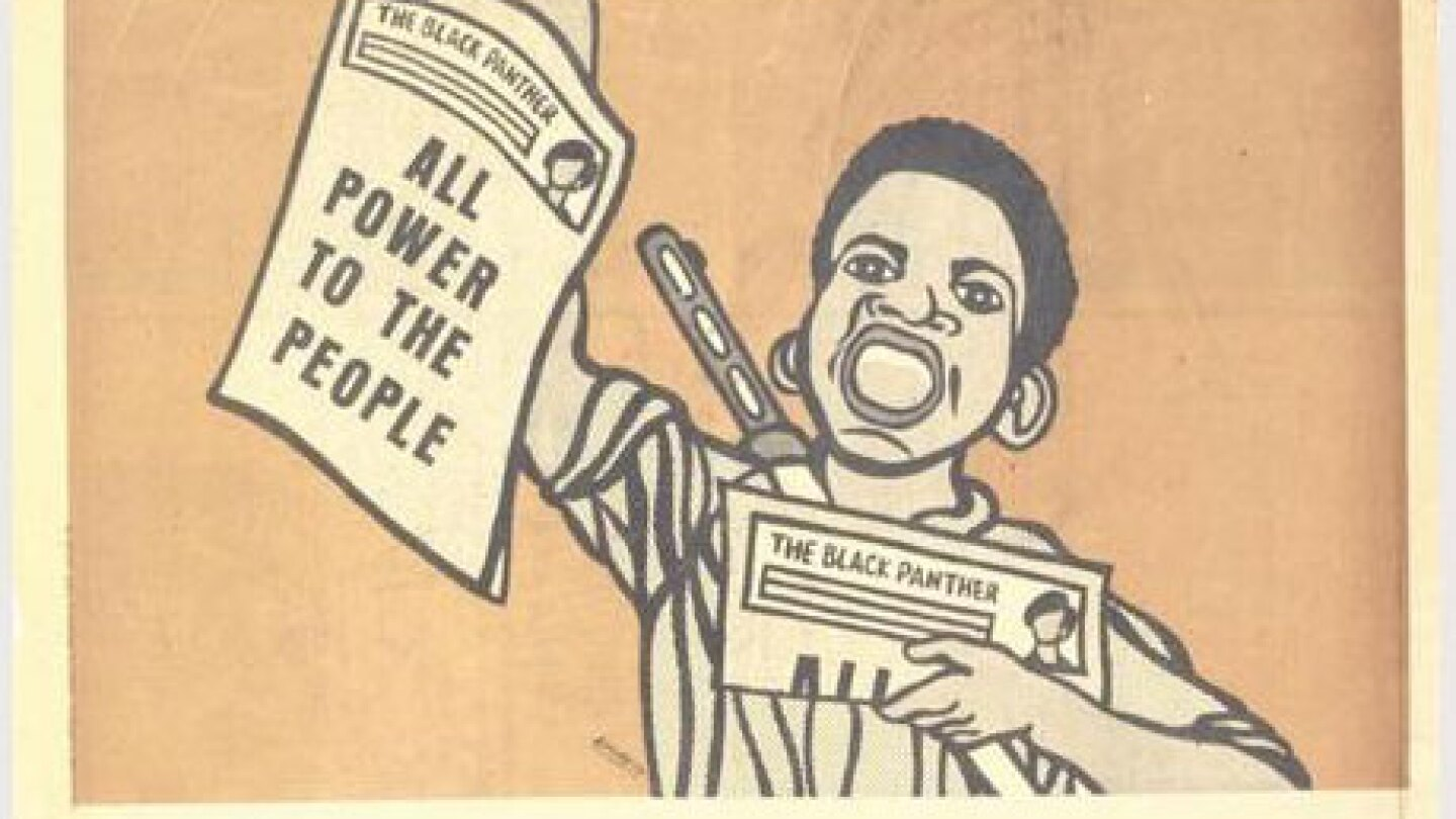 All Power to the People | Emory Douglas/Black Panther Party/Center for the Study of Political Graphics