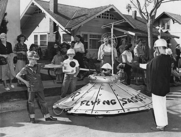 """""""Flying Sasser,"""" 1953. 
