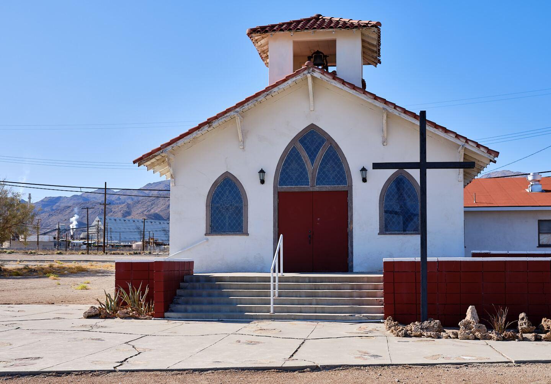 Trona Community Church, Trona, Ca.   Osceola Refetoff