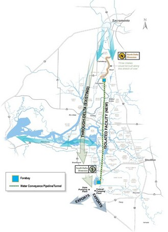 The revised version of the Peripheral Canal, now an underground project called the Dual Delta Water Conveyance (often referred as the twin tunnels), is still on the drawing board as it undergoes state and federal environmental review.