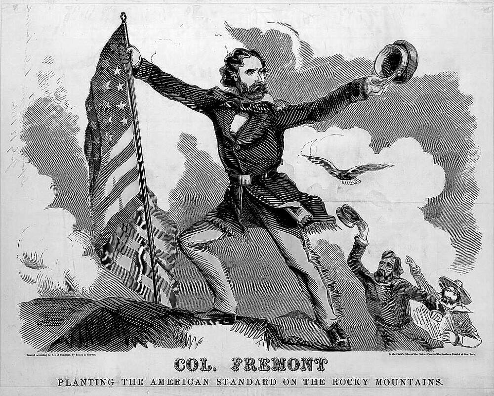Frémont Election Poster