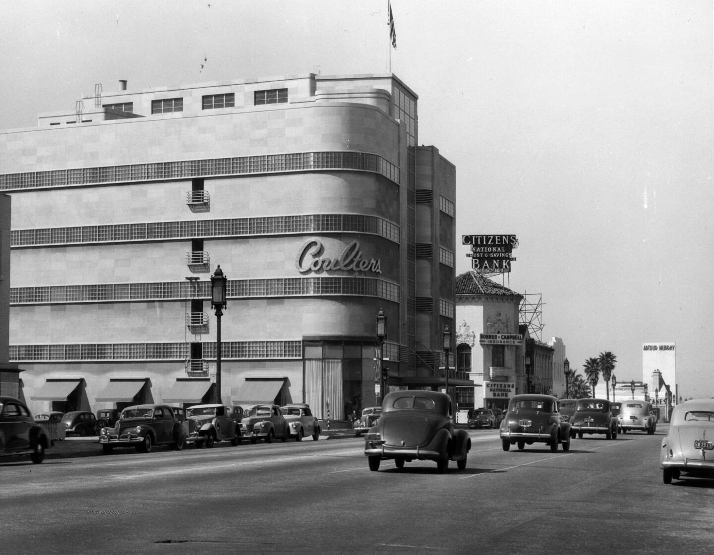 Coulter's, circa 1939. Courtesy of the Title Insurance and Trust / C.C. Pierce Photography Collection, USC Libraries.