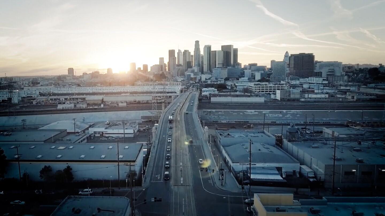 City Rising: Los Angeles Skyline
