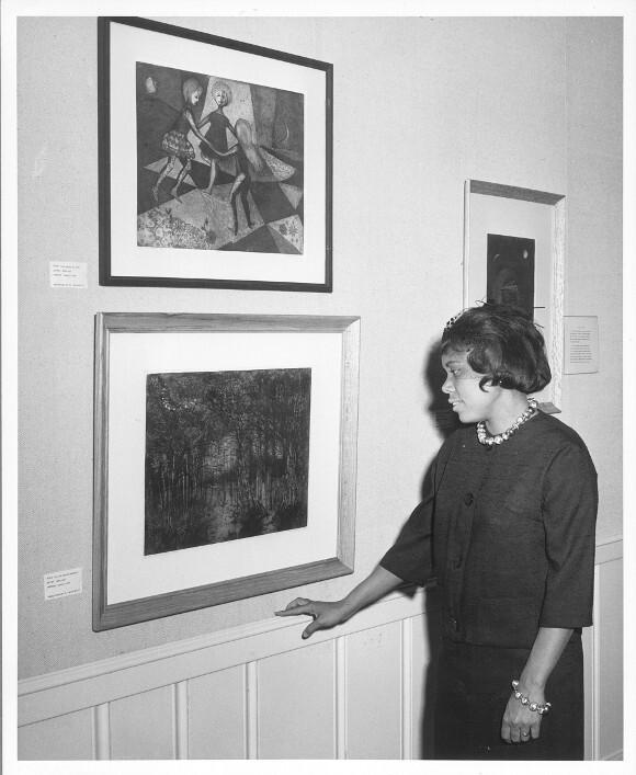 Betye Saar, Palos Verdes Library Gallery. 1961.