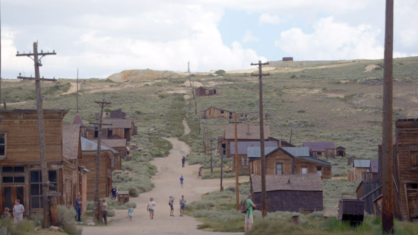 The ghost town of Bodie | Still from Lost LA Season 3 Ghost Towns