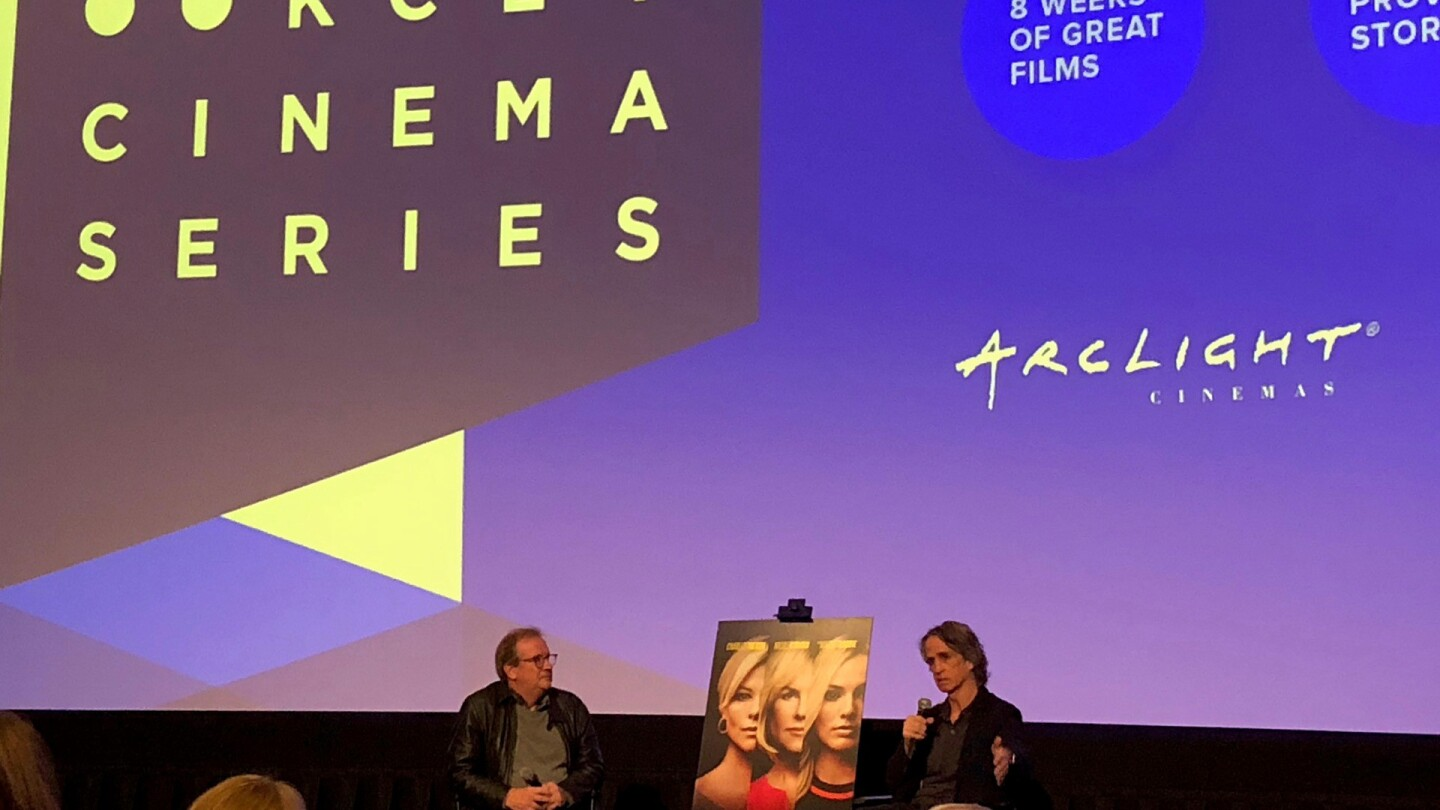 Pete Hammond and award-winning director Jay Roach in lively conversation with the audience.