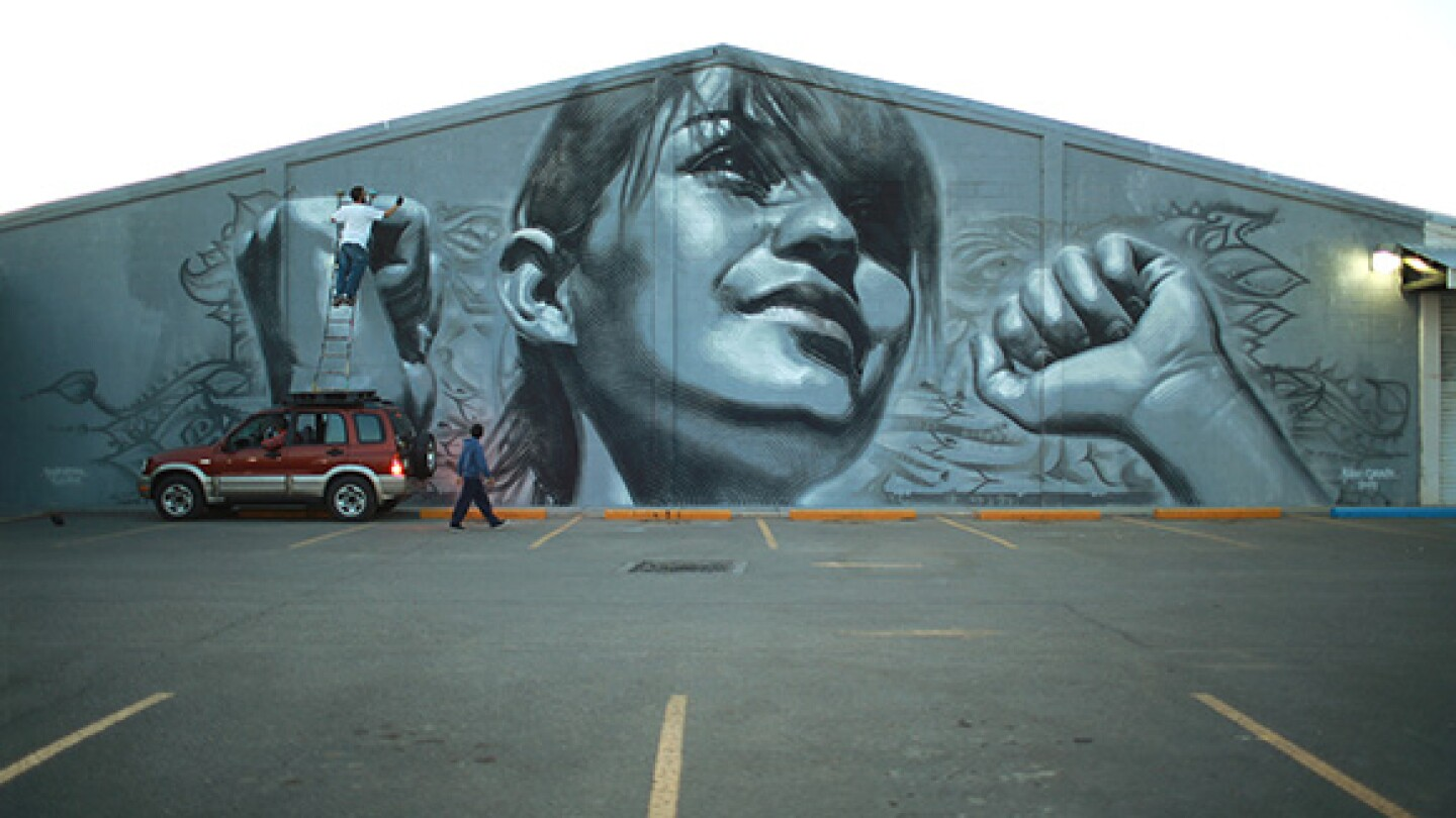 El Mac mural. | Photo: Eric Heights.