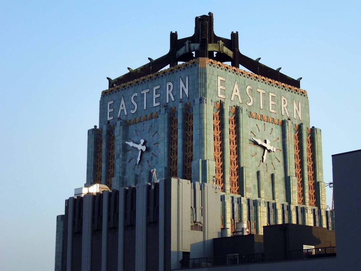 Eastern Columbia Building exterior. | Sandi Hemmerlein