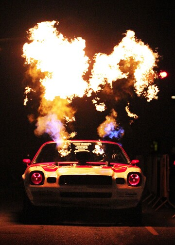 'Wild Thing,' Kenny Asche's fire-breathing 1978 Camero.   Photo: Courtesy Andrea Kaus