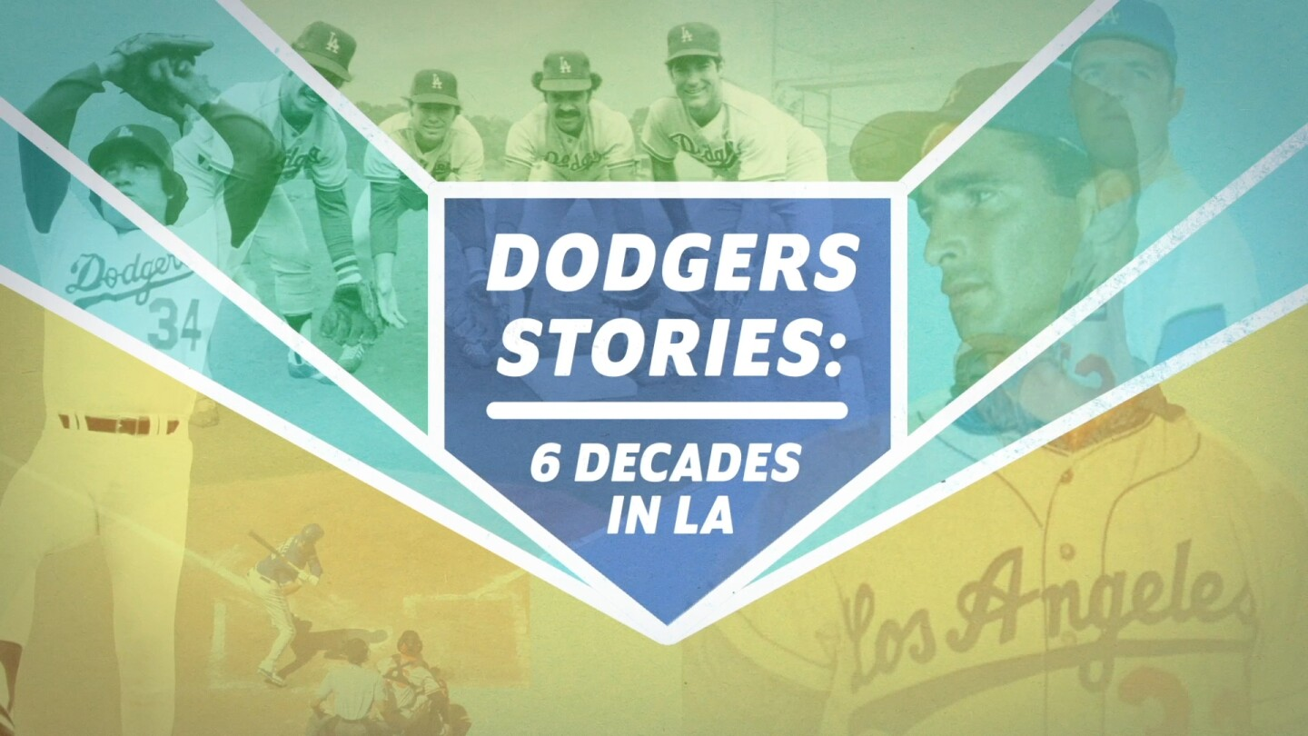 "Graphic for ""Dodgers Stories: 6 Decades in L.A."""