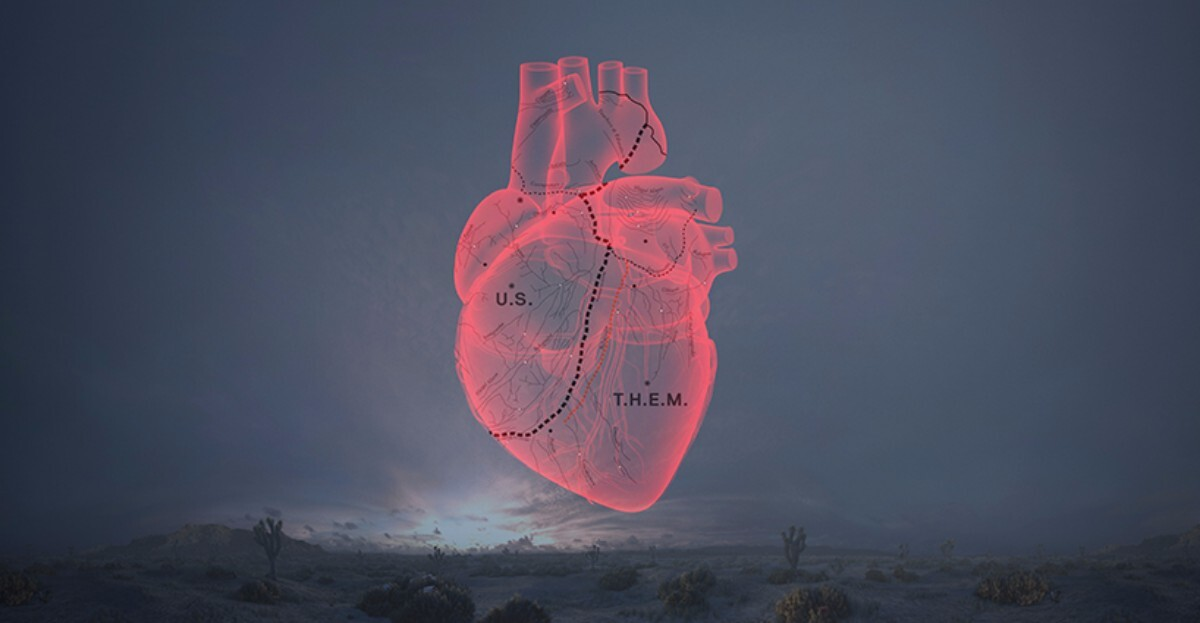 Image from the Carne y Arena experience from director Alejandro G. Iñárritu by Neil Kellerhouse