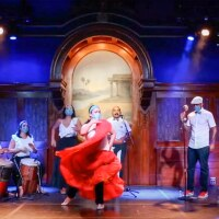 """Taller Bula performs at the Lodge Room in Highland Park.   Screenshot from """"Grand Performances presents Taller Bula"""""""