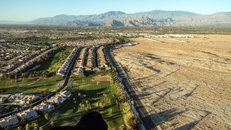 Coachella Valley - Aerial - Banner