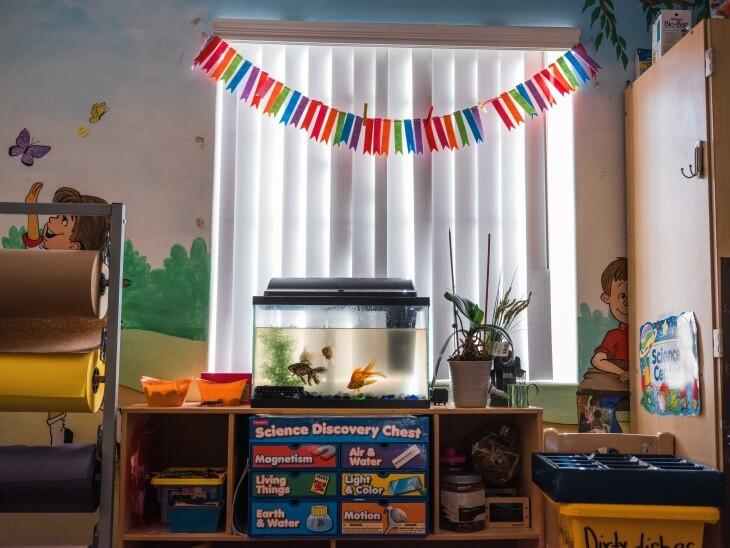 A daycare center.   Chava Sanchez/LAist