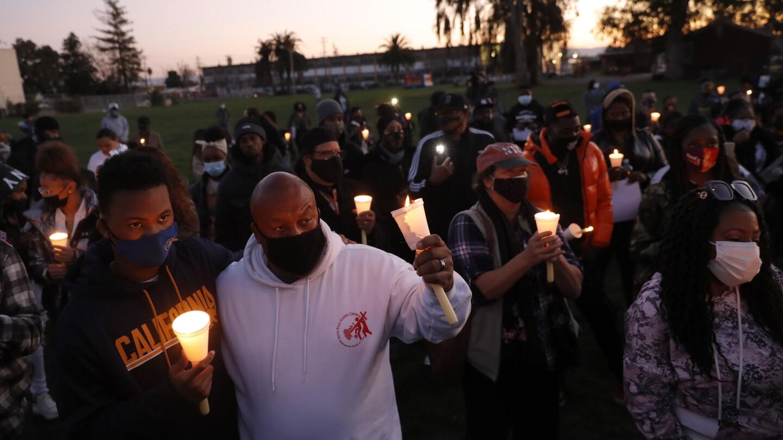 Reuben Lewis Vigil at Concordia Park