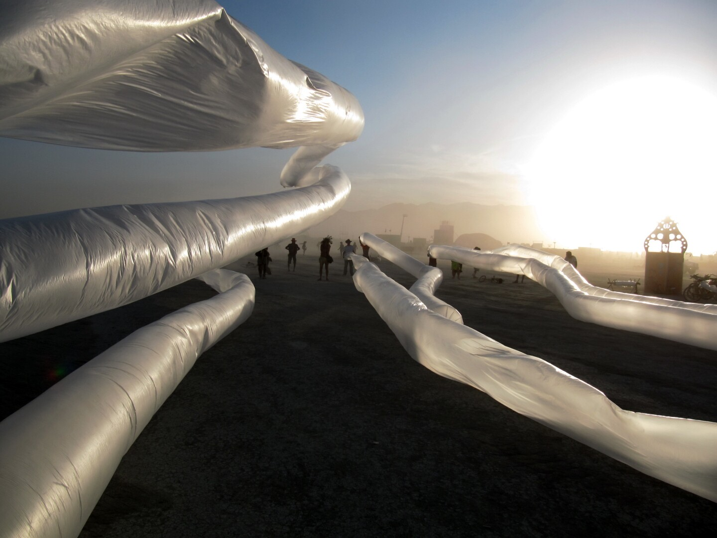 Sculpting the Wind at Burning Man
