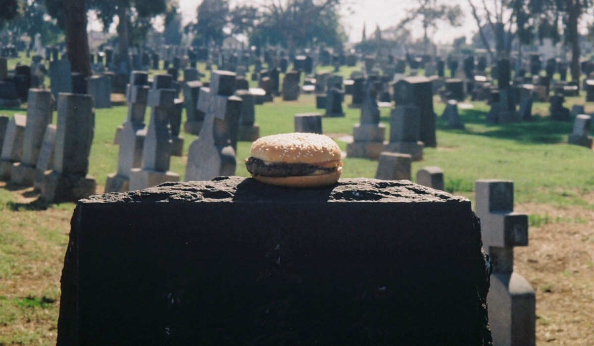 Burger on the grave | Chase Alexander