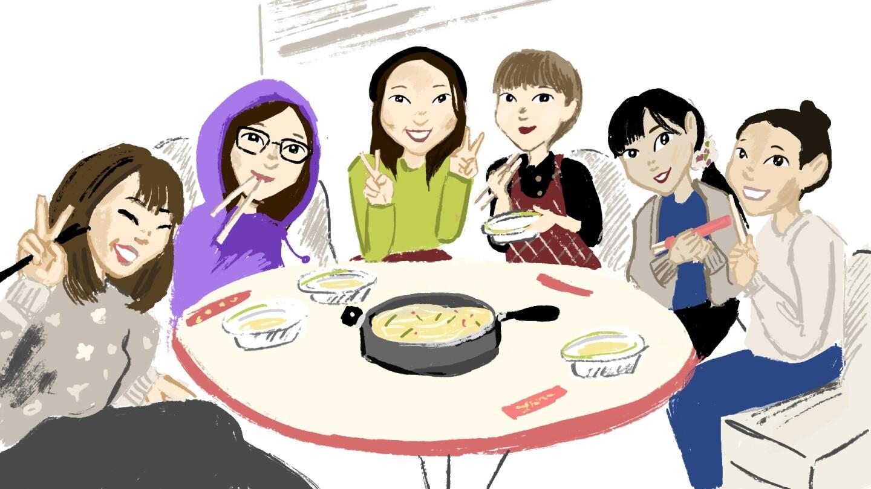 Joy My Asian American story illustration | Angel Trazo