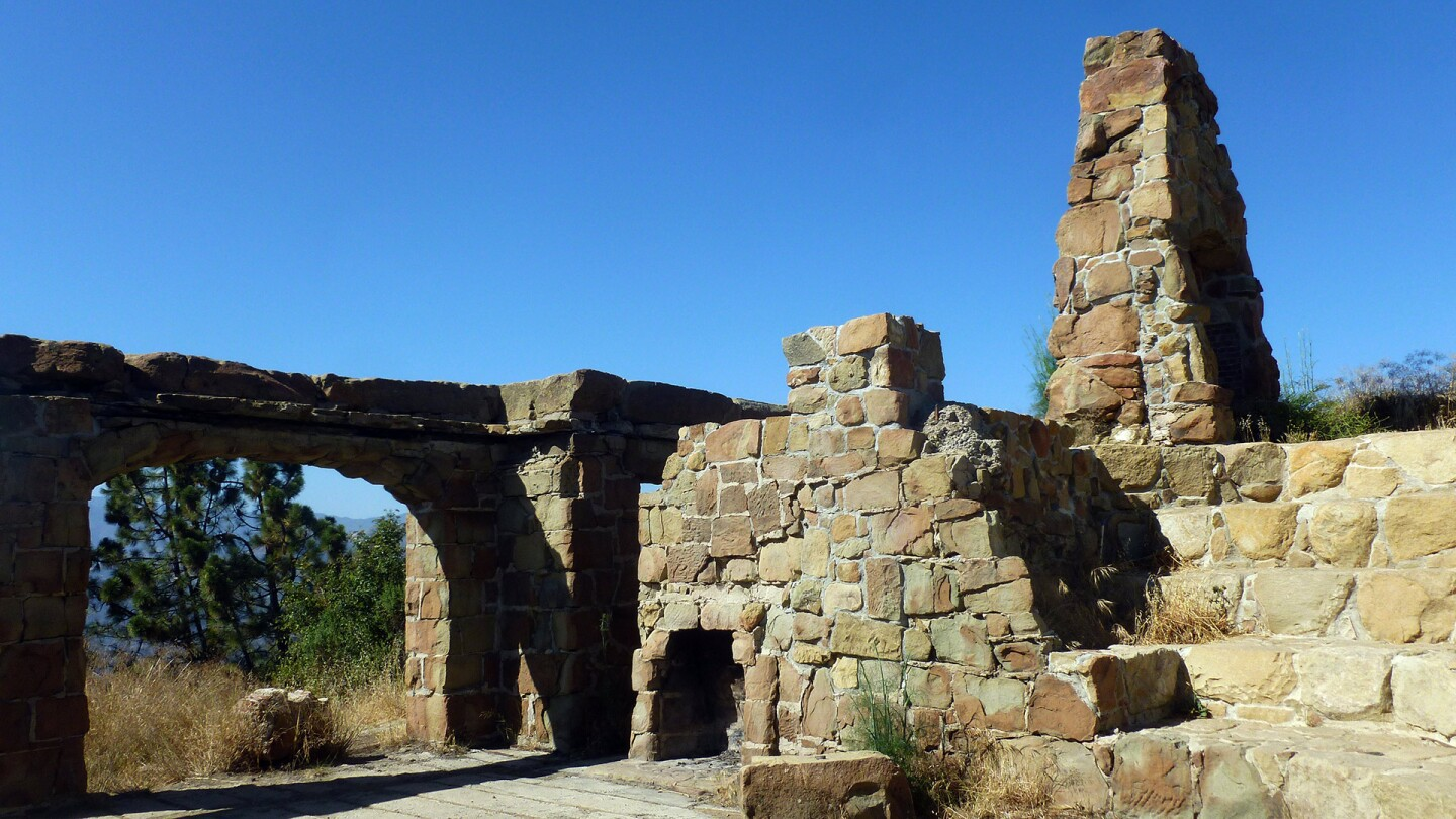 Remains of Knapp's Castle