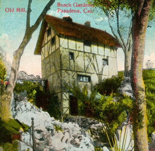 old mill post card