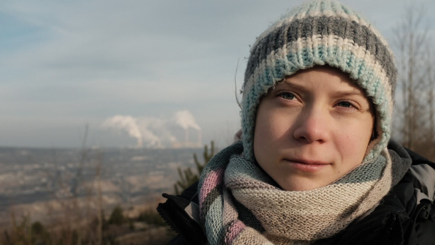 Greta Thunburg in GRETA THUNBERG: A YEAR TO CHANGE THE WORLD (Courtesy of PBS and Jon Sayers copyright of BBC Studios)
